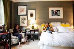 Celebrity bedrooms - Kate Spade and Andy Spade in New York.jpg